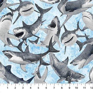 Shark Attack - Sharks (Lt. Blue)