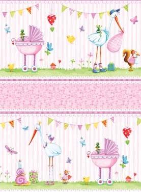 A Bundle of Pink - Border Stripe