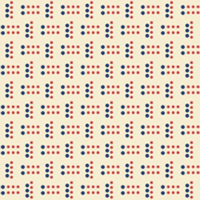 Harlow - Geo Dots (Cream)
