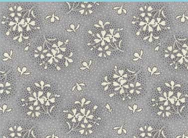 Orianna - Small Floral (Gray)