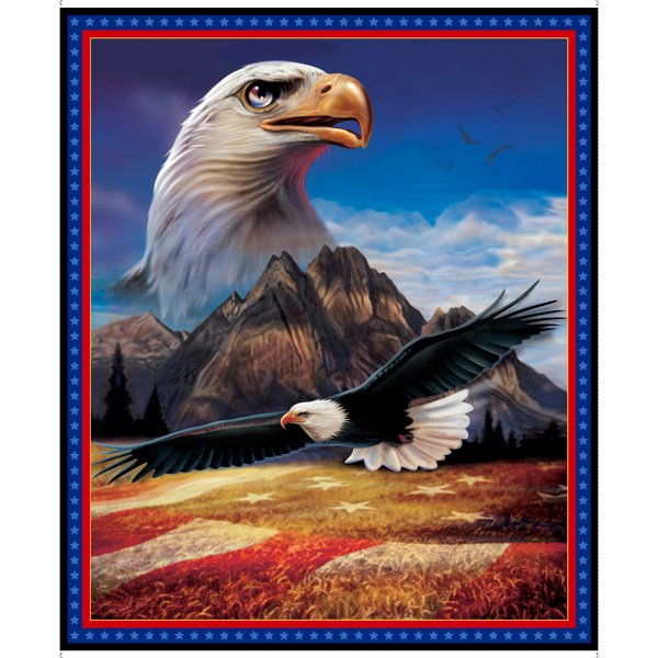 Artworks XVI - 36 Eagle Panel - DIGITAL PRINT