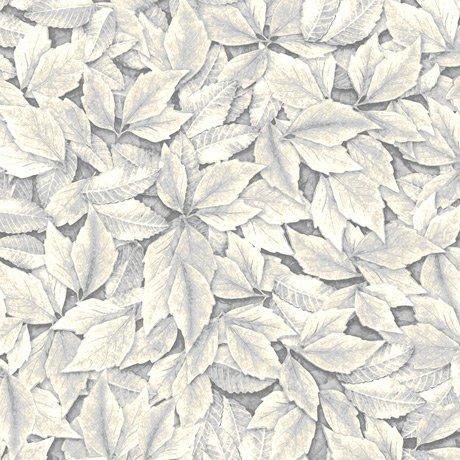 Always Face Sunshine - Leaves (Gray)
