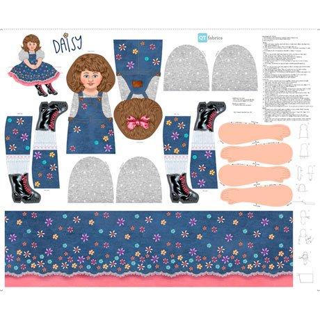 Sew & Go XIV - Daisy Doll Craft - 36 Panel