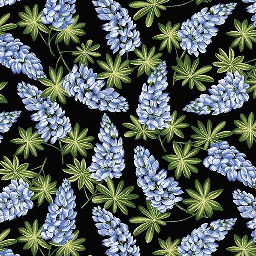 A Wildflower Meadow - Meadow (Black/Blue)