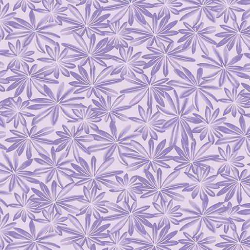 A Wildflower Meadow - Lupine Leaves (Purple)