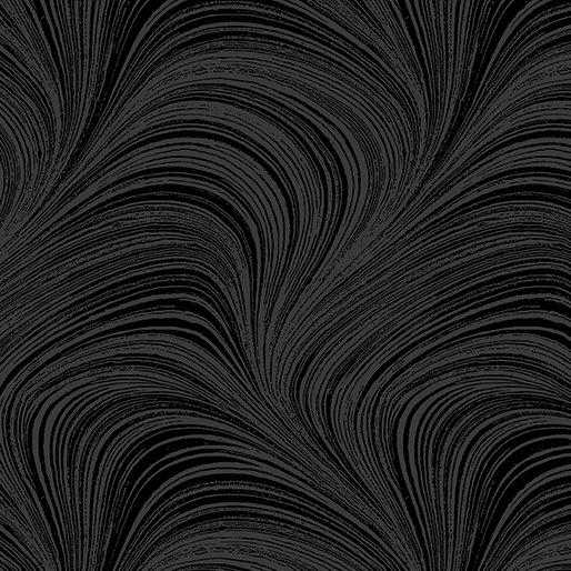 Wave Texture 108 WIDE (Black)