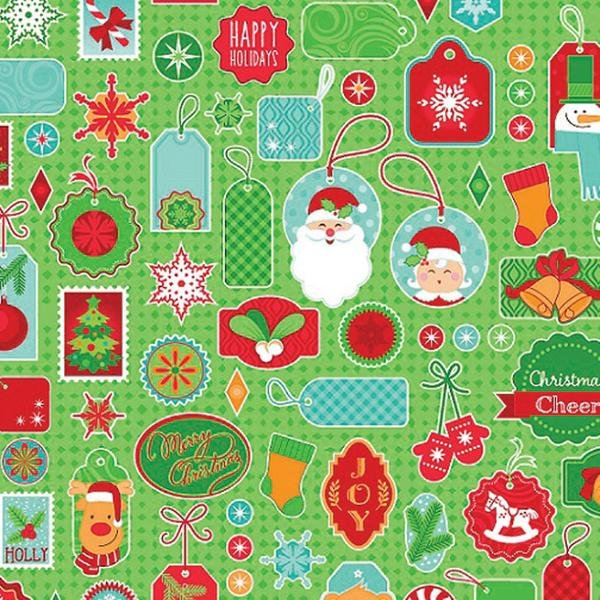 Christmas Cheer - Wrap It Up (Green)