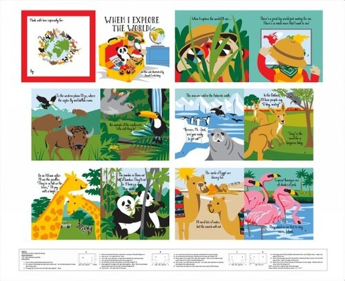 Little Explorers - 36 Book Panel