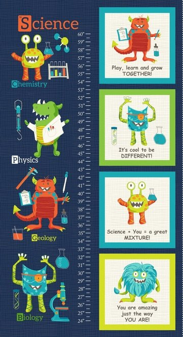 Monster Lab - Growth Chart 24 Panel