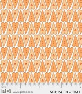 Basically Hugs - Hearts (Orange)