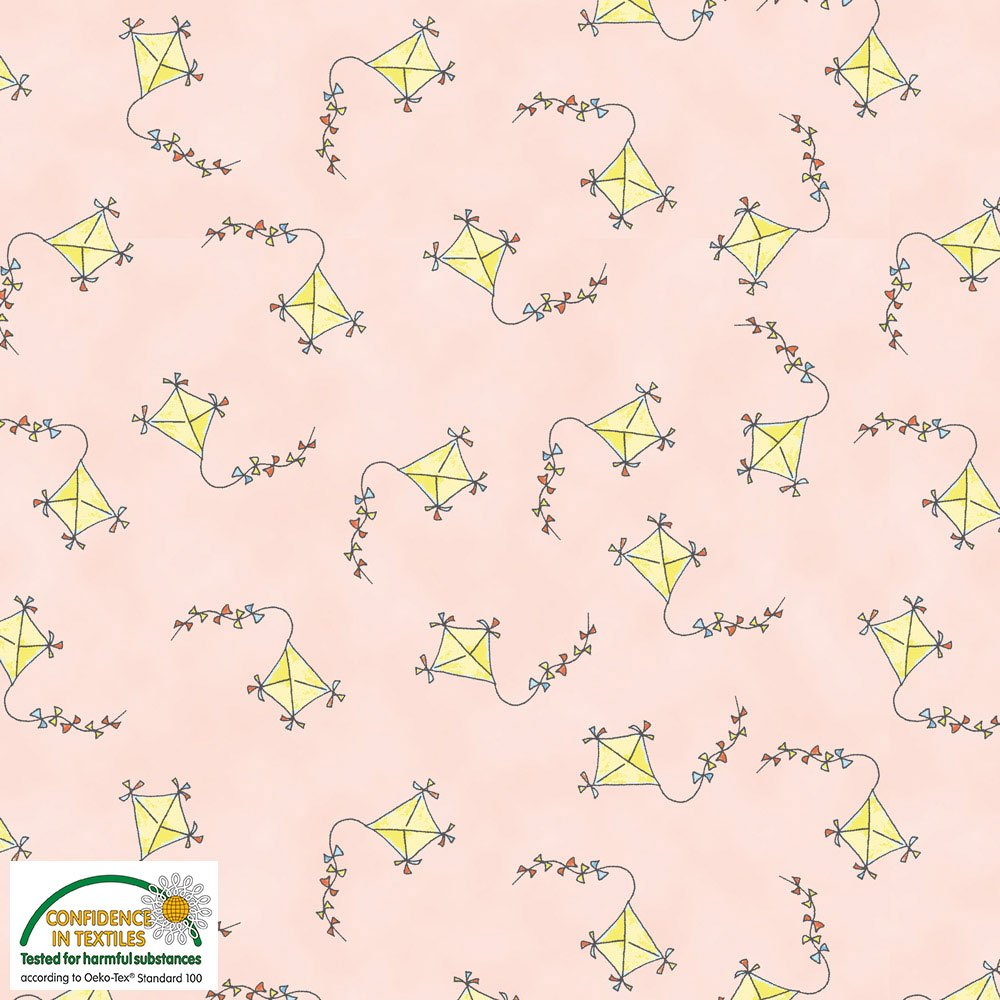 Bobbis Picnic - Kites Allover (Pink)