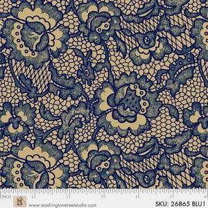 King Quilts Wide Backs - Lace (Blue)