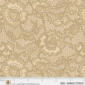King Quilts Wide Backs - Lace (Lt. Tan)