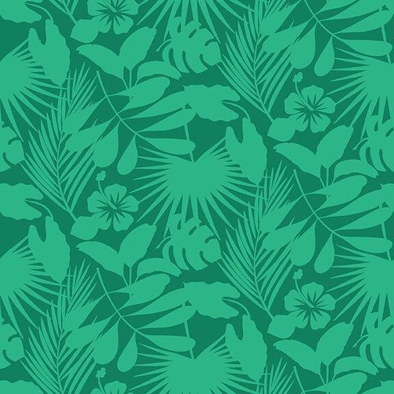 Gone Wild - Tropical Foliage (Green)