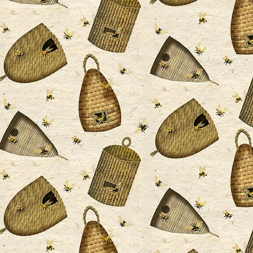 Bee A Keeper - Woven Bee Hives (Beige)