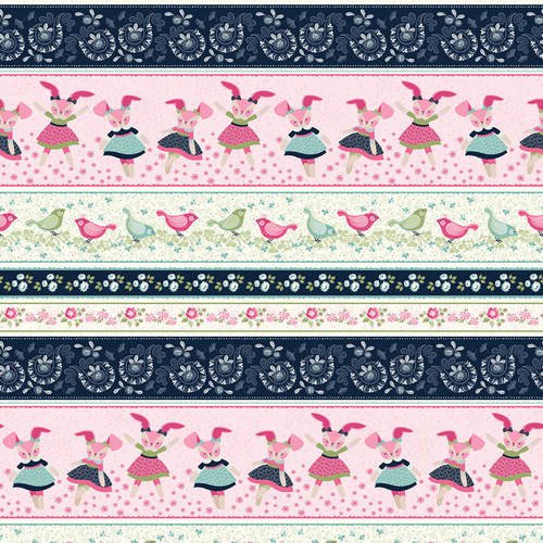 Boho Blooms - Stripe (Multi)