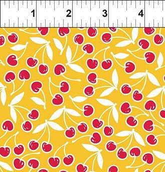 Cherry Lemonade - Floating Cherries (Yellow)