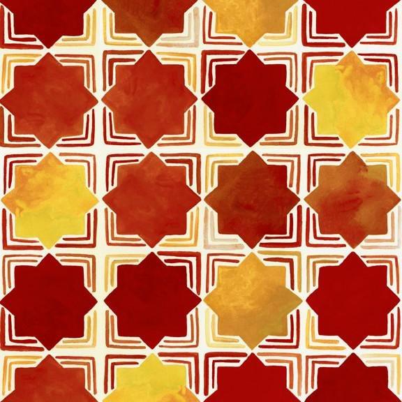 Azuli - Star Tiles (Red)