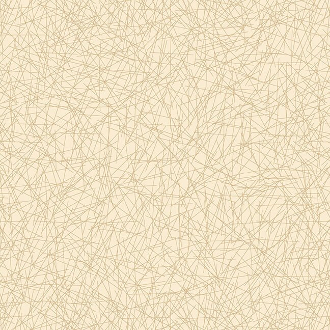Cream & Sugar IX - Geometric Lines (Beige)