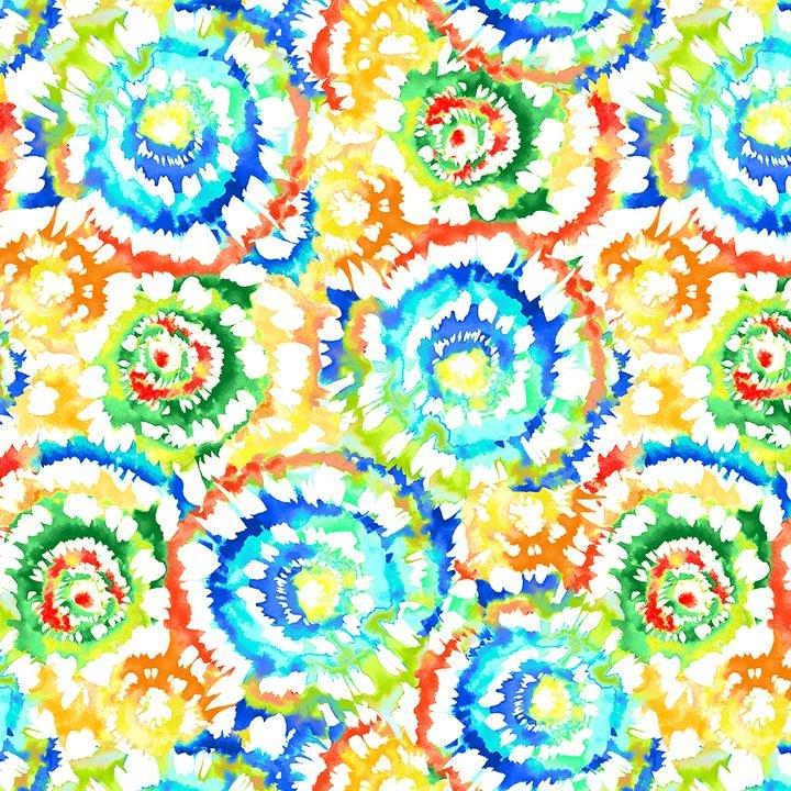 108 Wide - Spin Art (Multi)