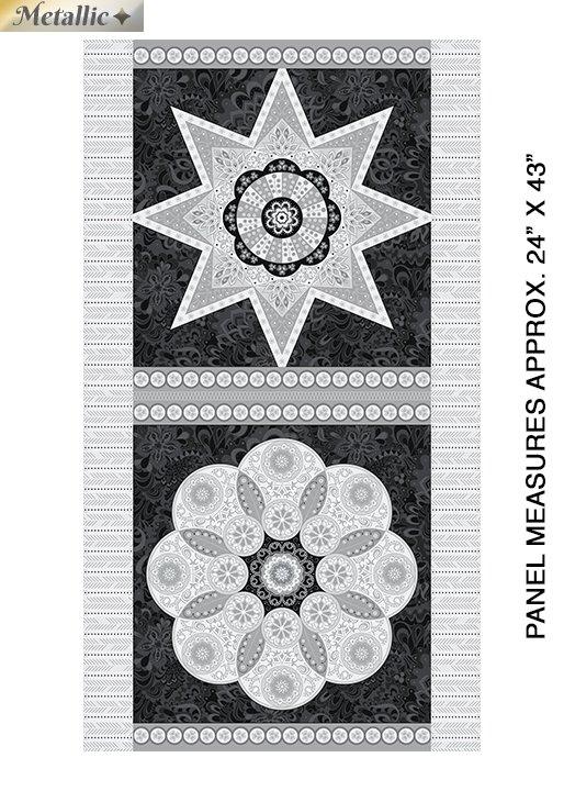 Jubilee Silver Metallic - 24 Panel