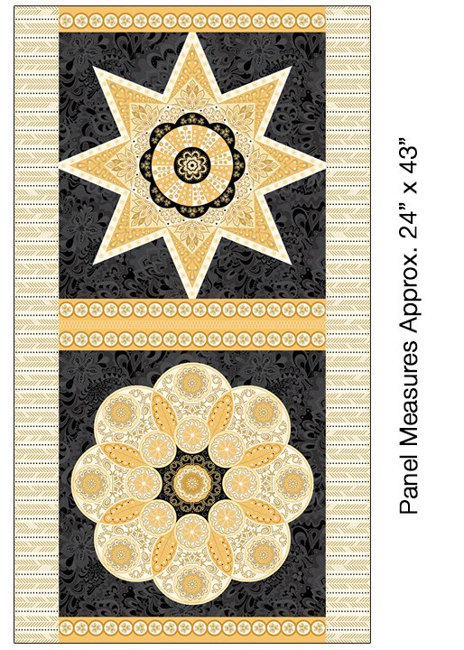 Jubilee Metallic - 24 Ruler Panel
