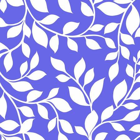 Vines (Periwinkle) - 108 WIDE
