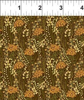 Garden Delights lll - Prairie Flowers (Gold)