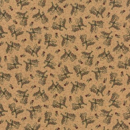 Patchwork Garden - Bee Hive Tan