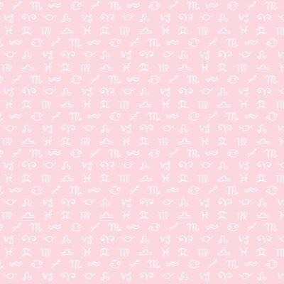 Celestial Zodiac - Signs (Pink)