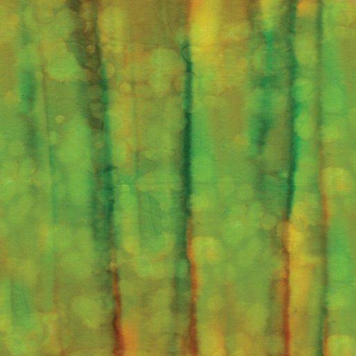 Bali Colorama II Batik - Ripples (Everglade)
