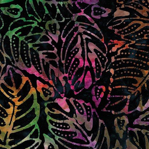 Bali Fiesta Batik - Forest Leaf (Indigo/Multi)