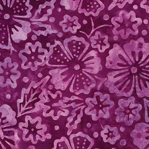 Bali Fiesta Batik - Blossoms (Violet)
