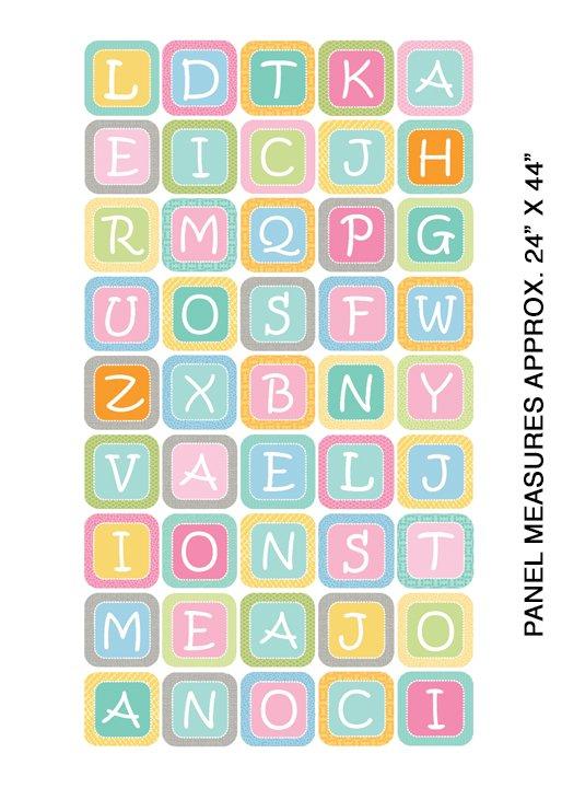 My Little Sunshine 2 - 24 Large Alphabet Blocks (Multi)