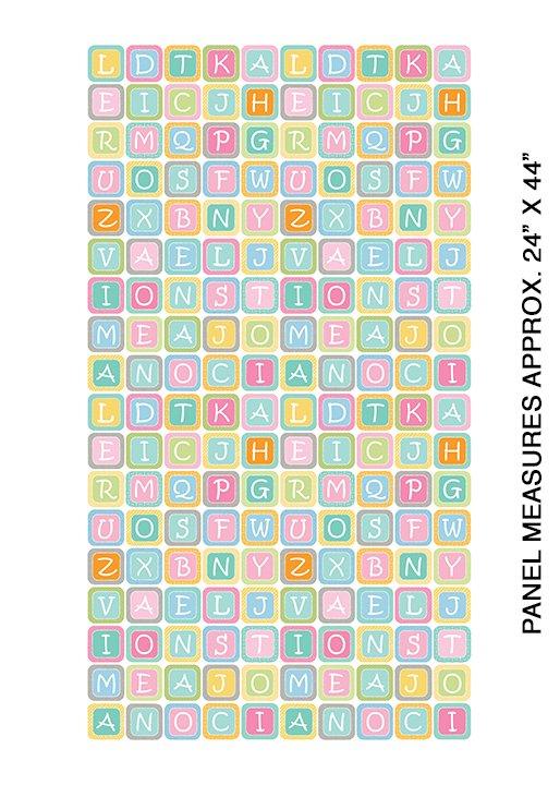 My Little Sunshine 2 - 24 Small Alphabet Blocks (Multi)