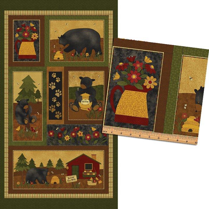 Bear Paws 23 Panel