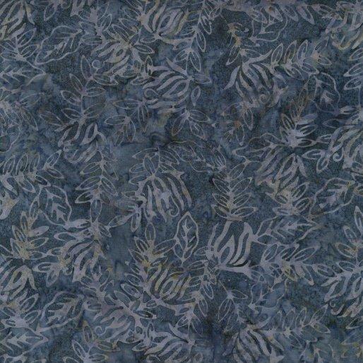 Bali By The Sea Batik - Vine (Blue)