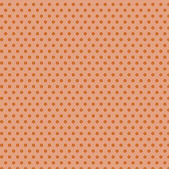 Crystal Farm - Dot Dot Dot (Orange Dot on Dk Coral)