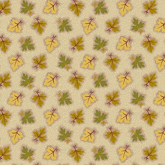 Maling Road - Oak Leaves (Gold Green)