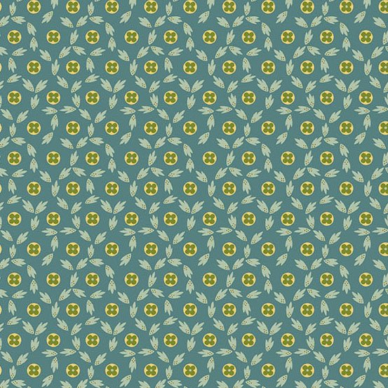 Maling Road - Button Flowers (Blue)