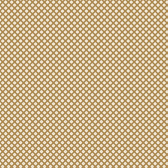Lottie Ruth - Dotted Square (Brown)