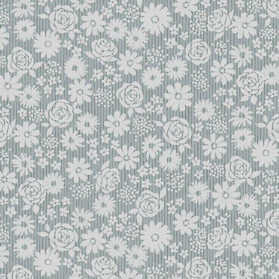 Top Drawer - Tonal Floral (Grey)