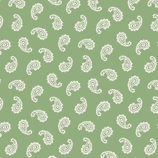 Apple Pie - Paisley (Green)