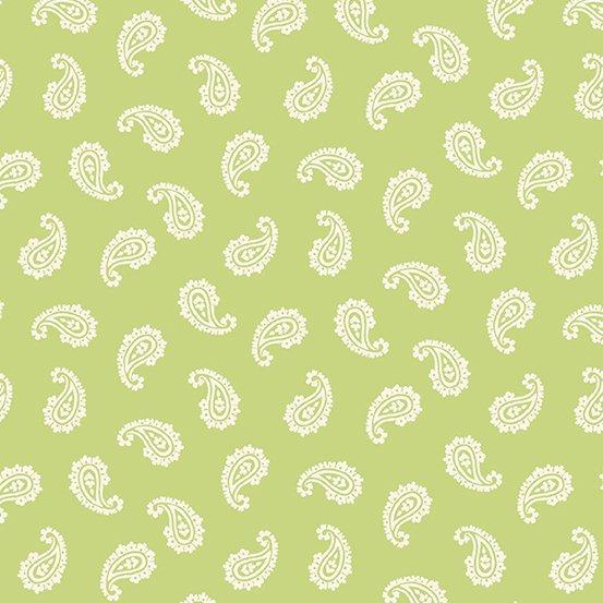 Apple Pie - Paisley (Lt. Green)