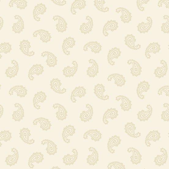 Apple Pie - Paisley (Cream)