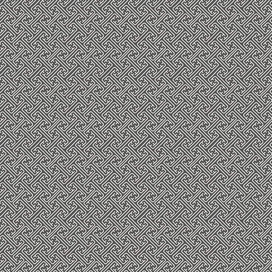 Fern Garden - Lattice (Grey)