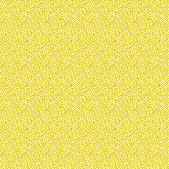 Fern Garden - Lattice (Yellow)