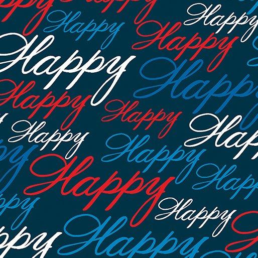 All American - Happy (Blue)