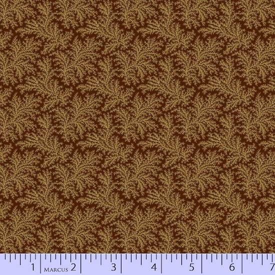Baltimore House - Sprigs (Brown)