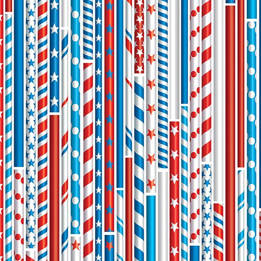 All American - Drawing Straws (White)
